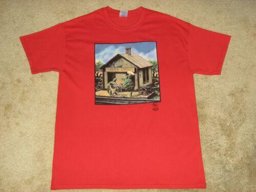 XL 2XL Red T-Shirt Grateful Dead Terrapin Station SD M L