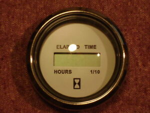 Details about FARIA CHESAPEAKE WHITE SS MH0211 - DIGITAL HOURMETER