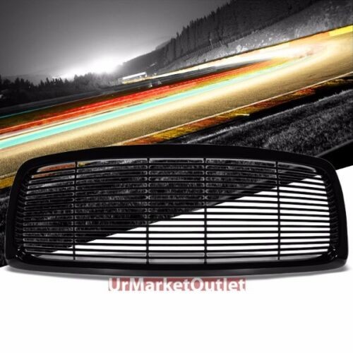 Black Vent Style Replacement Grille For Dodge 02-05 Ram 1500//2500//3500 V8//V10