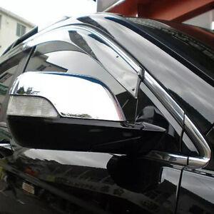 For-Honda-CR-V-CRV-2007-2011-Chrome-Side-Rearview-Mirror-Covers-Wing-Mirror-Trim