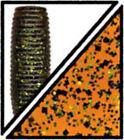 Gary Yamamoto Senko 5in Pumpkin Black Green Flake 10pk