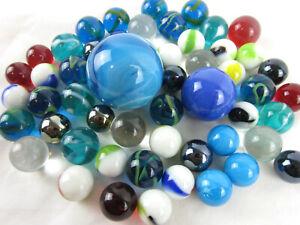 CLASSIC-MARBLES-Boulder-Shooter-glass-swirl-MEGA-mint-Random-Blind-Pack-lot