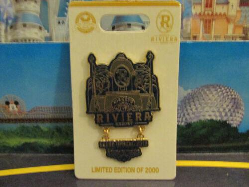2019 Disney Vacation Club DVC Pin Grand Opening Riviera Resort LE 2000