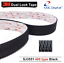 3 m ™ Double Lock ™ 1 m 2 m ou 3 m 25.4 mm épais SJ3551 Self Bâton Bande Noir Heavy Duty