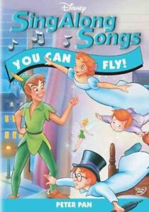 Disneys Sing Along Songs Peter Pan You Can Fly New Region 1 Dvd