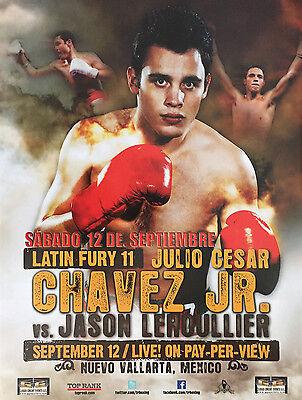 CANELO ALVAREZ vs JULIO CESAR CHAVEZ JR POSTER PLAQUE BOXING PICTURE PLAQUE