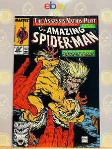 Amazing-Spider-Man-324-9-2-9-4-NM-By-Todd-McFarlane-1989-High-Grade-Key-Issue