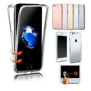 Coque-Etui-Housse-360-FULL-Gel-Silicone-Tactile-Pour-Apple-iPhone