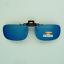 Clip-on-flip-up-sunglasses-color-mirror-gray-polarized-fish-drive-frame-unisex thumbnail 2