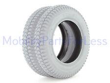 Pair of 3.00-8 Pneumatic Tires - Knobby Tread - Primo Powertrax