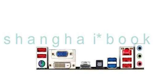 OEM IO SHIELD BLENDE BRACKET for GA-Z68MA-D2H-B3 GA-Z68A-D3H-B3
