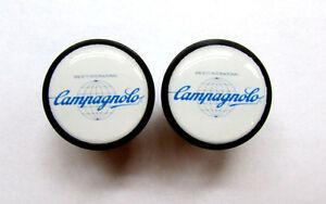 Campy Bike frame logo end plugs,Campy retro logo Campagnolo handlebar bike caps