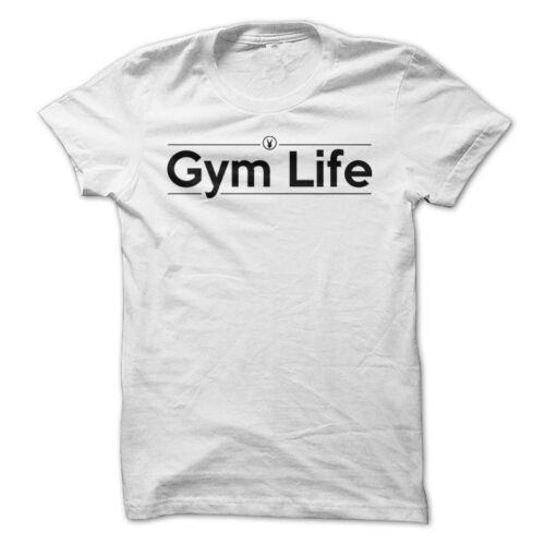 GYM LIFE Gym Rabbit T Shirt 5 colors Workout Bodybuilding Fitness Lifting D392