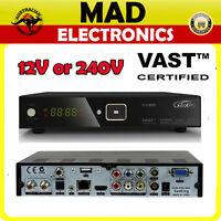 Satking Dvbs2-800ca Vast Satellite Receiver 12v Or 240v Free To Air Digital Tv
