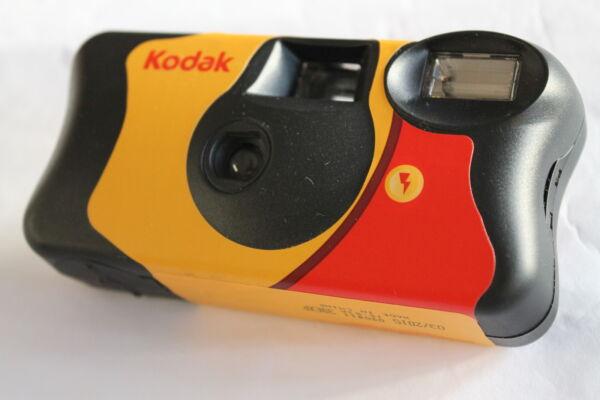 100% Vrai 10 Appareil Photo Jetable Kodak Fun Flash Pellicules 400 27 Poses Neuf Usa 2019! Prix Fou