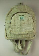 69202f0b7e8 item 1 Small Recycle Hemp Eco-Friendly RuckSack Backpack Bag THC FREE  Handmade SHR1 -Small Recycle Hemp Eco-Friendly RuckSack Backpack Bag THC  FREE Handmade ...