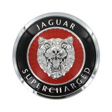 Jaguar Supercharged XKR Hood Bonnet Badge Emblem 1999-2002 HJB5900AA