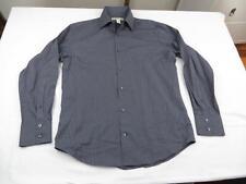 Mint Banana Republic Mens Gray Club Office Button Down Dress Shirt Sz M 15-15.5