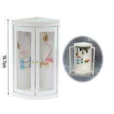 Simulation White Bathroom Shower For 1:12 Dollhouse Furniture Miniature H9R1