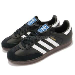 c5519b0ce316 Details about adidas Originals Samba OG Classic Black White Gum Men Casual  Shoe Sneaker BZ0058