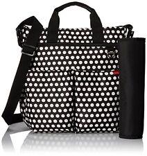 NWT Skip Hop Duo Signature Diaper Bag w/ Portable Changing Mat- Connected Dots