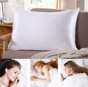 Soft Satin Silk Mulberry Pillowcase Pillow Slip Cover