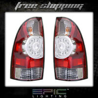 Fits 2009-14 Toyota Tacoma Tail Light/lamp Pair Left And Right Set