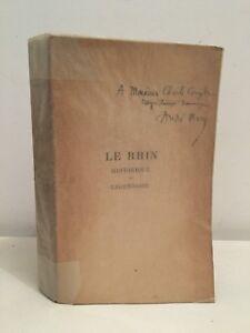 Reno-Storia-e-Leggendaria-Andre-Mary-Bernard-Grasset-1919-Autografo