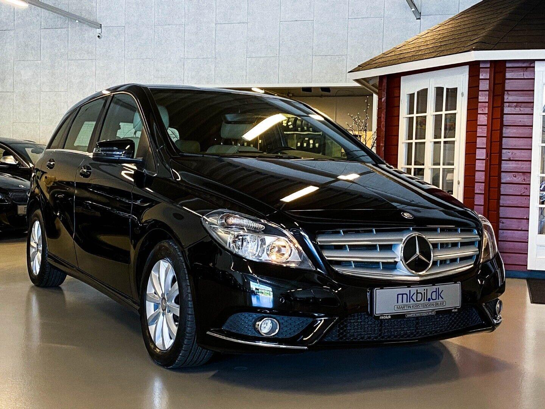 Mercedes B200 1,6 aut. BE 5d - 224.900 kr.