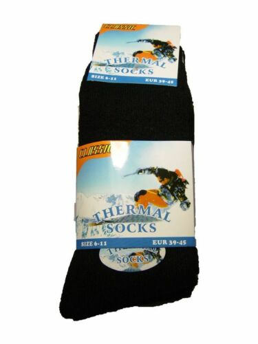 1 Pair Mens Thermal Socks Outdoor Work  Thermal Socks UK 6-11 WINTER WARM SOCK