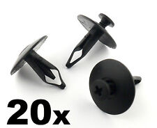 20x Ford Paraurti, Griglia & Copertura Radiatore Plastica Clip Per Fissaggio