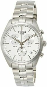 Tissot PR 100 Quartz Movement Silver Dial Men's Watch T1014171103100