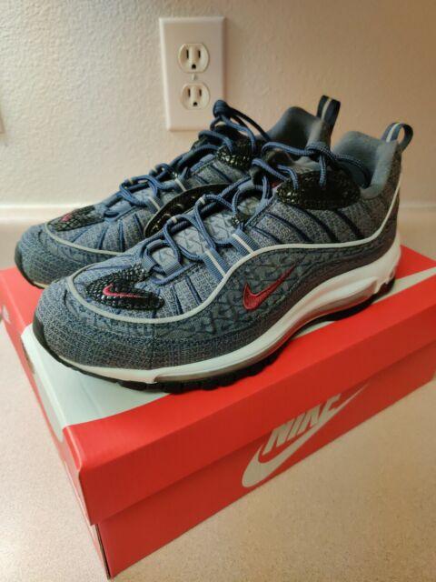 Nike Air Max 98 QS Thunder Blue Sz 8.5 924462 400
