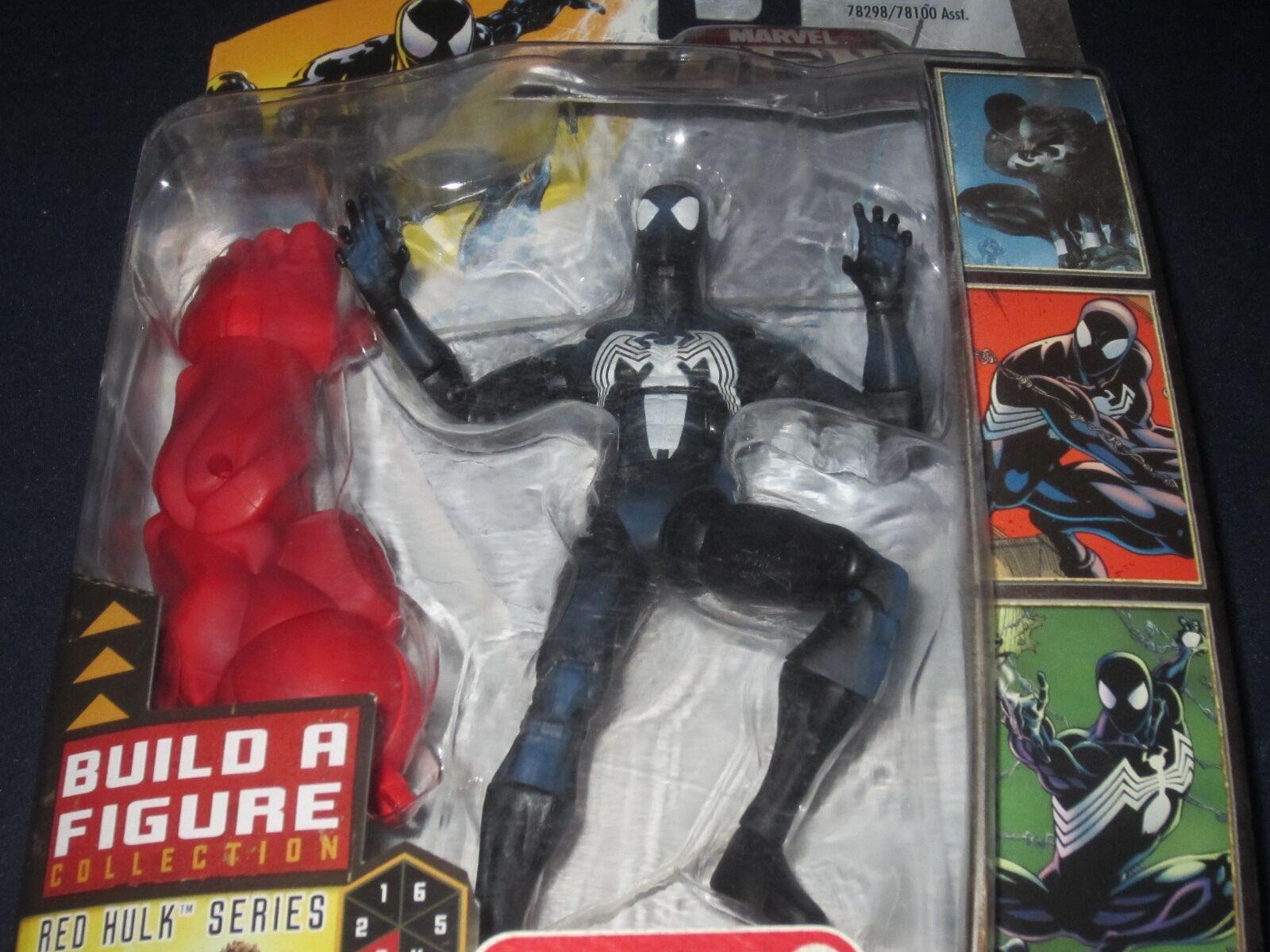 Disfraz Negro MARVEL leyendas Hombre Araña Hulk Rojo Serie 2007 Figura De Acción