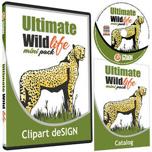 WILDLIFE-ANIMAL CLIPART-VINYL CUTTER PLOTTER IMAGES-VECTOR CLIP ...