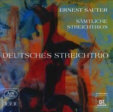 Ernest Sauter: Trios a Cordes, New Music