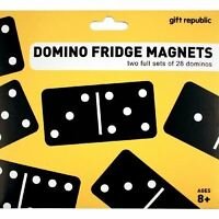 Domino Fridge Manets Two Full Sets Of 28 By Gift Republic
