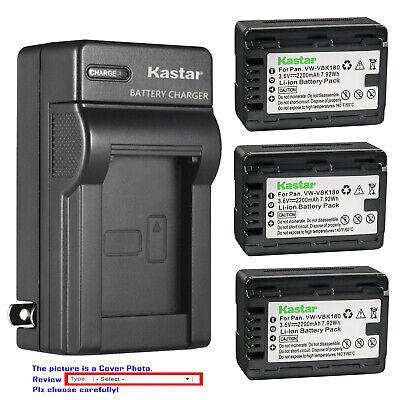 BATTERY with Infochip for PANASONIC VW-VBK180 HC-V700 HC-V700M