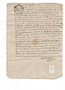 1790-Manuscript-letter-Tribunal-court-subject-with-nice-stamp-calligraphy-and-si