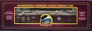 MTH-1-48-O-Scale-Pennsylvania-Gondola-Car-w-Pipe-Load-318251-Train-20-3412a