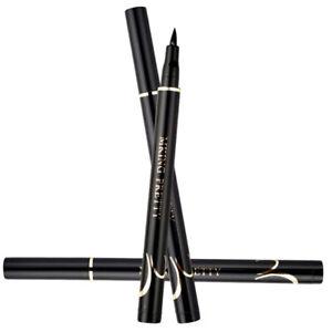 Eyeliner-Sechage-Rapide-Impermeable-A-l-039-eau-Smudge-Proof-Facile-a-Colorer