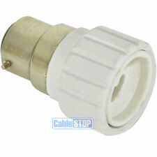 B22 Bayonet Cap BC to GU10 Light Bulb Fitting Lamp Converter Lamp Connector