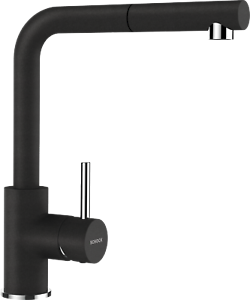 SCHOCK NAPOS Armatur Küchenarmatur Onyx Hochdruck Zugauslauf