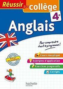 Details Sur Reussir Au College Anglais 4eme De Michoux Andre Livre Etat Tres Bon