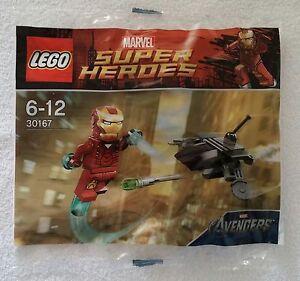 LEGO-Marvel-Super-Heroes-30167-Iron-Man-vs-Fighting-Drone-Promo-Neu-amp-OVP-new