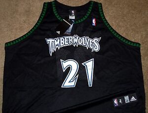 53665c7a1b56 Image is loading NEW-AUTHENTIC-KEVIN-GARNETT-MINNESOTA-TIMBERWOLVES -ADIDAS-ALTERNATE-