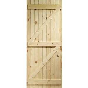 Image is loading External-Pine-Door-Gate-Ledged-&-Braced-Boarded-  sc 1 st  eBay & External Pine Door Gate Ledged \u0026 Braced Boarded Softwood Exterior ...