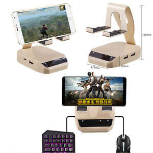 Details about BattleDock Converter Keyboard and Mouse Adapter for  Android/iOS PUBG Mobile Game