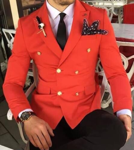 da petto a fit con vestibilità doppiopetto stile slim Giacca doppio 48 uomo wInI7d