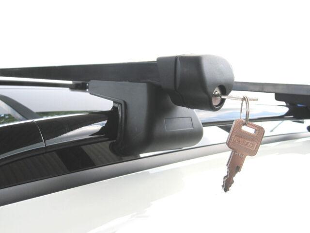 Roof Rack Rail Bars Lockable   BMW 3 Series Touring Estate E46 E90 E91